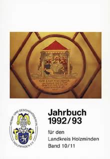 Jahrbuch Band 10 / 11 (1992 / 93)